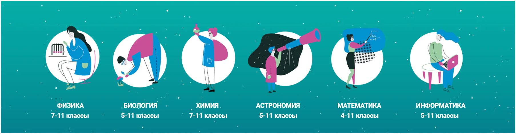 Школьный этап всероссийской олимпиады школьников  https://siriusolymp.ru/